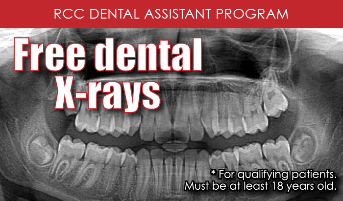 free Dental X-rays, terms apply