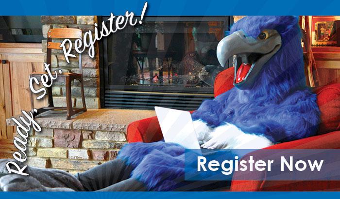 get registered for winter term