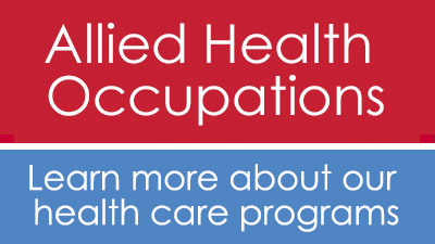 Allied Health Occupations program info sessions