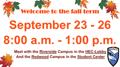 fall inservice at RCC all campuses will be closed