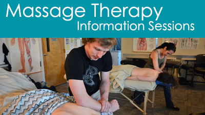 massage therapy information sessions