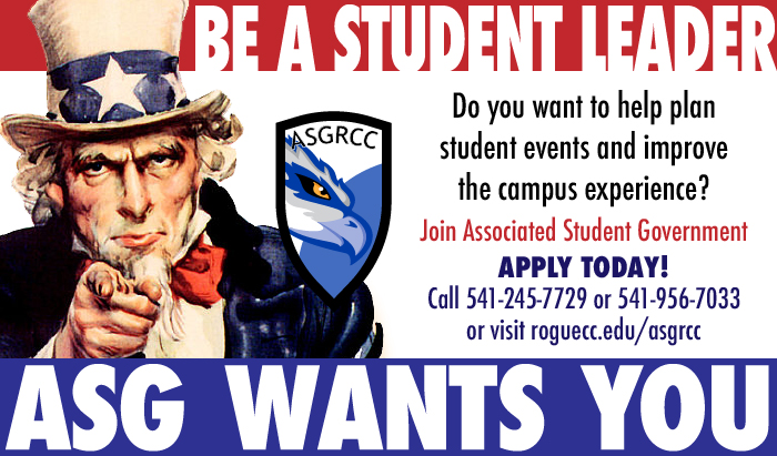 ASG is hiring paid positions for student government