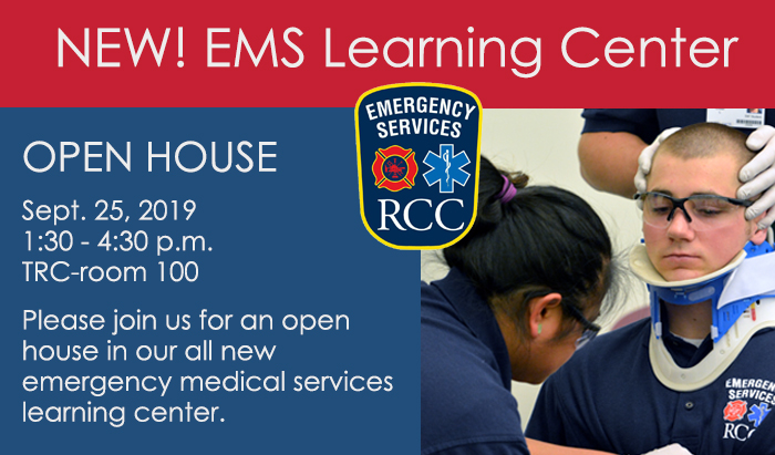 EMS Open House at TRC September 25