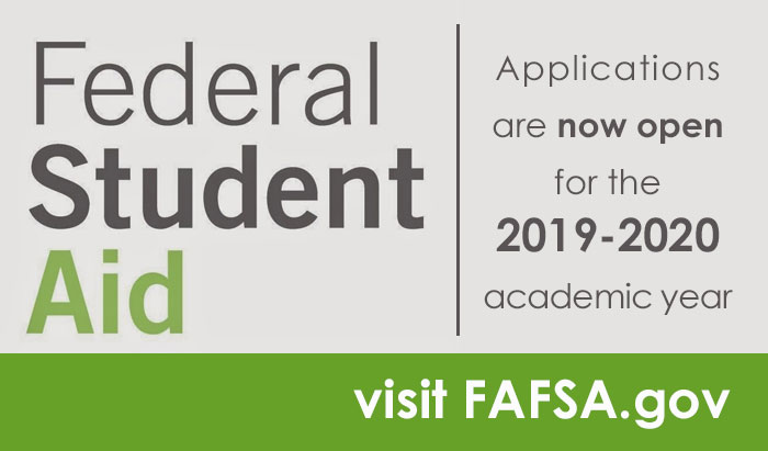 file your fafsa for 2019-20 academic year now