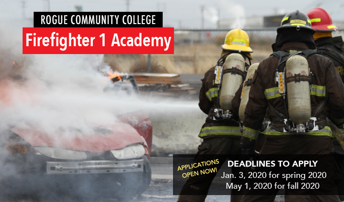 apply now for RCC Firefighter I Academy