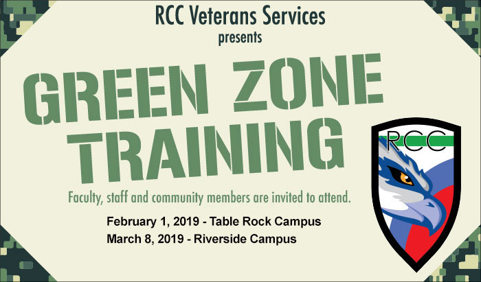 green zone training to support veterans