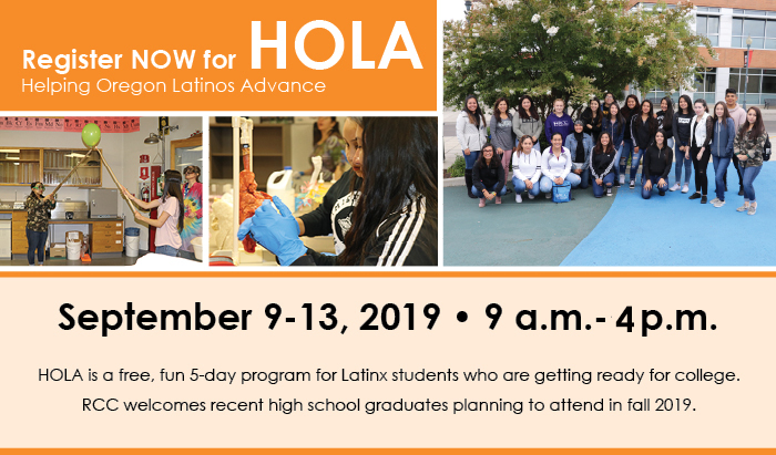 free five day program for entering latino students
