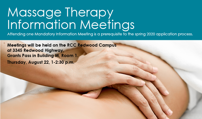 Massage therapy information session