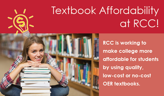 textbook availablity for RCC students
