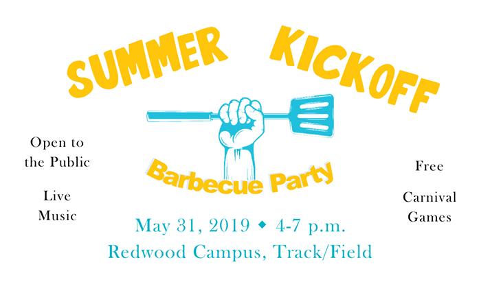 summer kick off bbq at redwood campus
