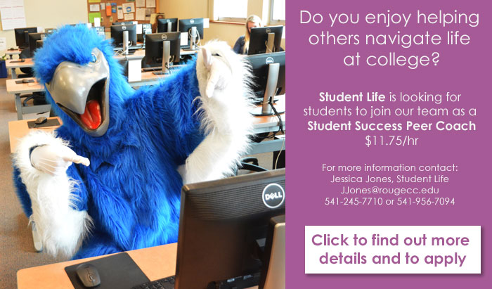 get a student job working to help other students