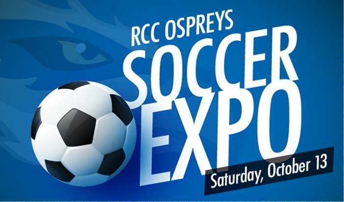join RCC Ospreys for a soccer expo games and fun Oct 15