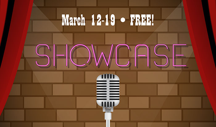 spring theater showcases are free at RCC