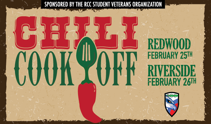 sign up now for a chili cooking contest to benefit Veterans Services