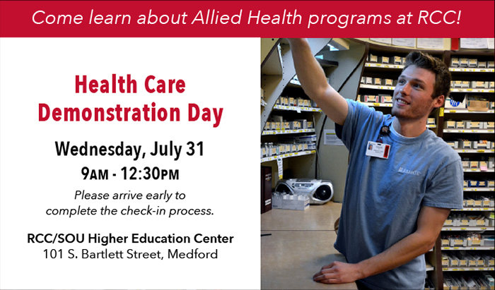 join allied health occupations for demo day to learn about their programs