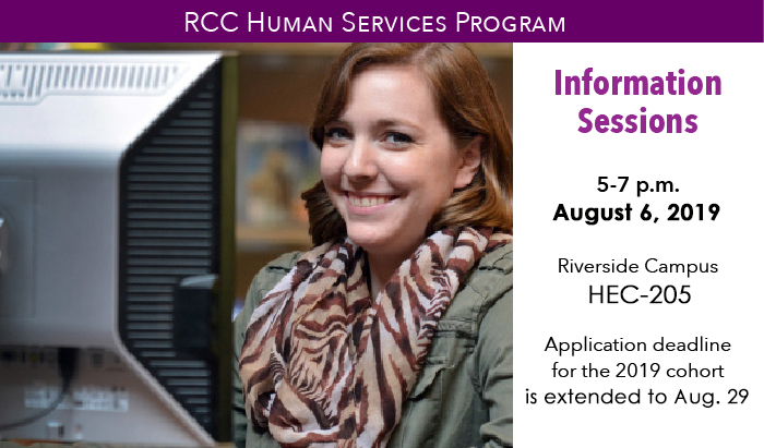 mandatory information sessions for the human services program at RCC