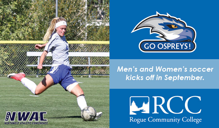 2018 soccer season with the Ospreys kicks off this September