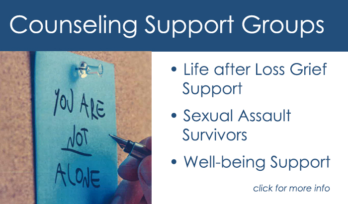 rcc counseling support Groups