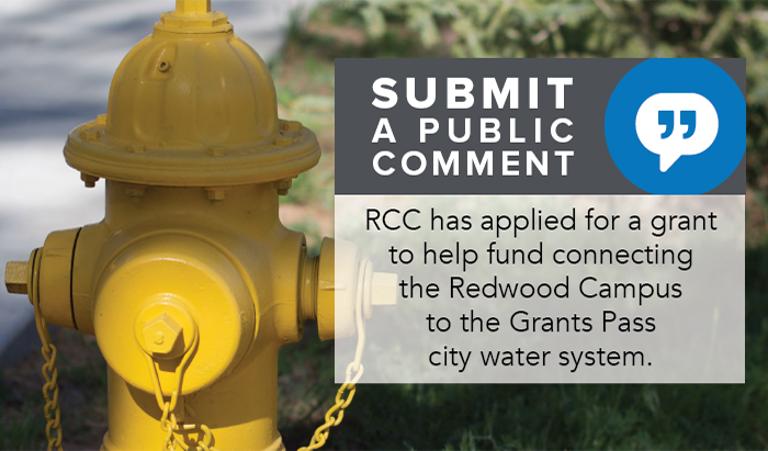public comment is open for RCC water project