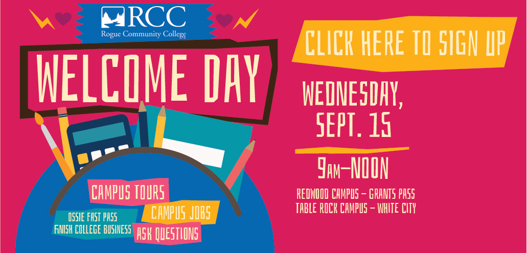 RCC Welcome Day Fall 2021