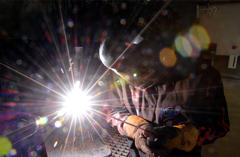 welding at the High Tech Center White City Campus