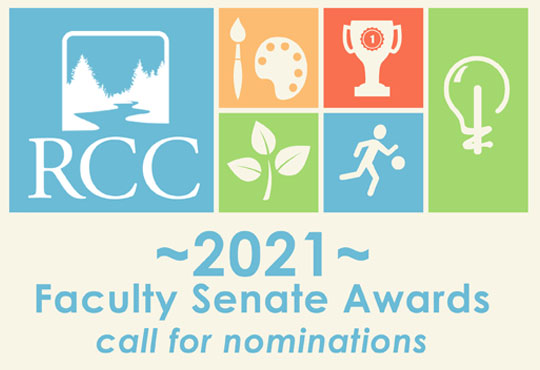 Nominate your favorite faculty for the 2021 Faculty Senate Award