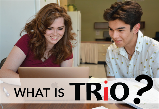 TRIO programs help low-income individuals, first-generation college students, veterans, and people with disabilities.