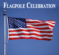 Flagpole Celebration