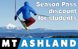 Mt. Ashland Season Pass
