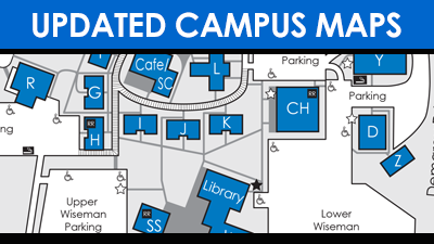 make sure you are looking at the latest campus map