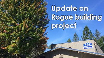 update on the flora surrounding the rogue building project on Redwood campus