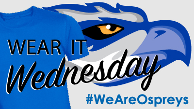 show your team spirit with wear it wednesdays