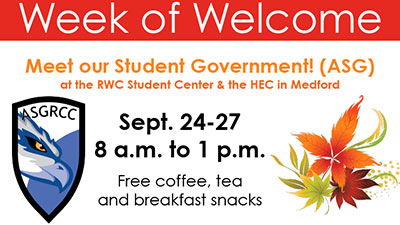 week of welcome with ASG
