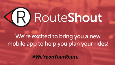 plan your bus route with RouteShout