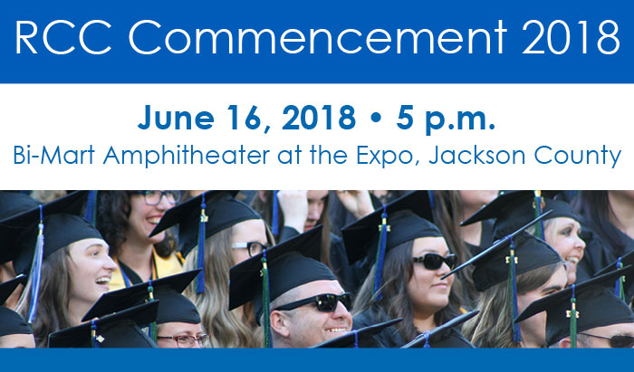 celebrate RCCs graduates June 16 2018 at the bimart amphitheater EXPO
