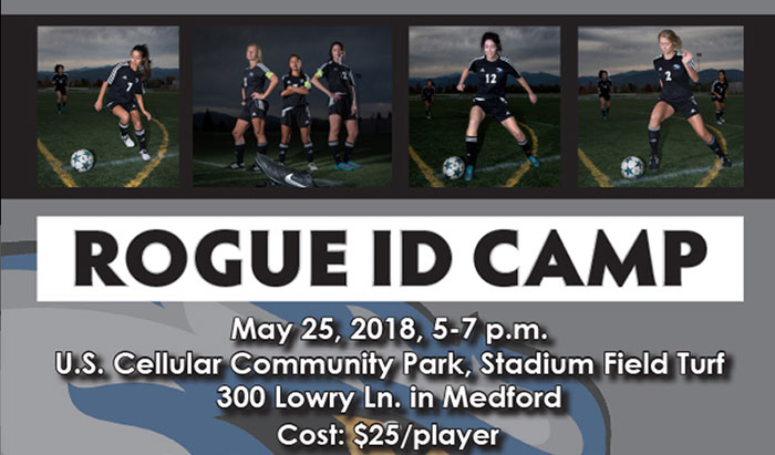 Rogue Soccer ID camp
