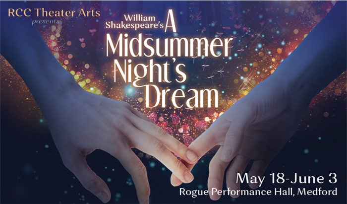 join the theater arts department for a performance of Midsummer Night's Dream