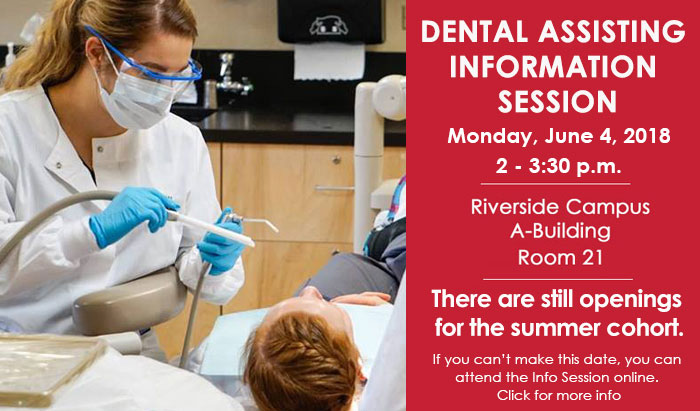 dental info session for summer 2018 cohort