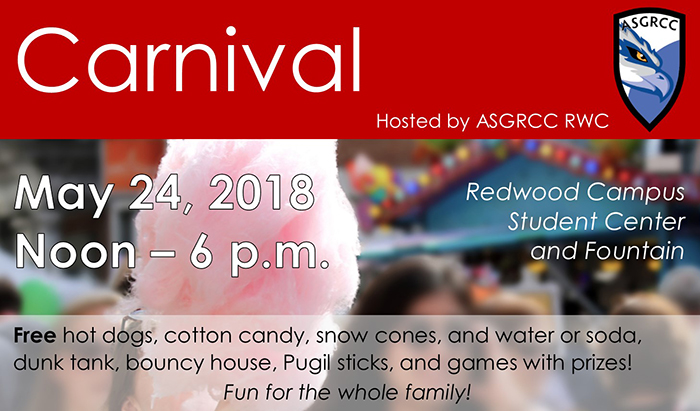 free carnival hosted by RCC student government