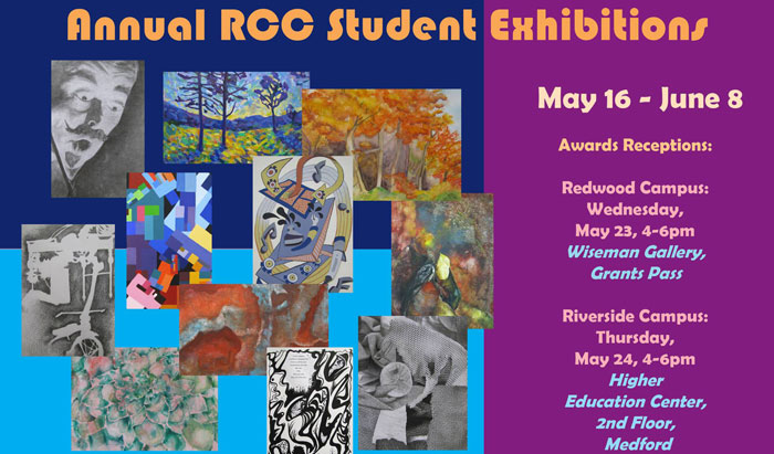 RCC art student gallery show